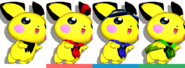 Couleurs Pichu Melee