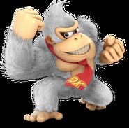 Art Donkey Kong blanc Ultimate