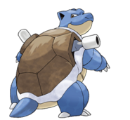ArtworkTortank PokémonRougeFeuVertFeuille