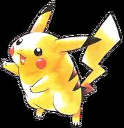 Artwork Pikachu PokémonRB