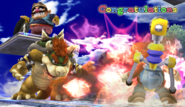 Félicitations Bowser Brawl All-Star