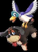 Art Duo Duck Hunt noir Ultimate