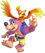 Art Banjo & Kazooie rose Ultimate