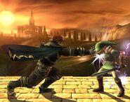 Ganondorf attaques Brawl 7