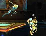 Sheik attaques Brawl 4