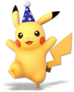 Art Pikachu bleu Ultimate