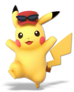 Art Pikachu rouge 2 Ultimate