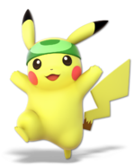 Art Pikachu vert Ultimate
