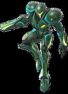 Art Samus sombre vert Ultimate