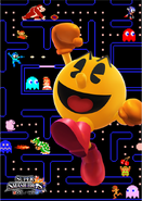 Artwork SSB4 Pac-Man