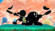 Mr Game & Watch SSB4 Profil 7