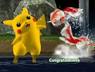 Félicitations Pikachu Melee Classique