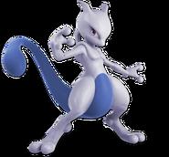 Art Mewtwo bleu Ultimate