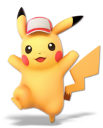Art Pikachu rouge Ultimate