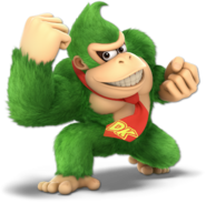 Art Donkey Kong vert Ultimate