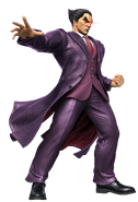 Art Kazuya violet Ultimate