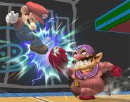 Wario Smash final Brawl 3