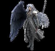 Art Sephiroth blanc Ultimate