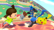 Félicitations Lucario U All-Star