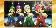 Félicitations Luigi 3DS All-Star