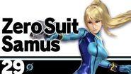 Présentation Samus sans armure Ultimate