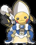 Art Pikachu Lady ROSA