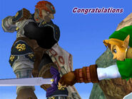 Félicitations Ganondorf Melee Classique