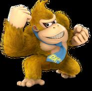 Art Donkey Kong jaune Ultimate