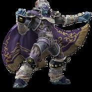 Art Ganondorf violet clair Ultimate