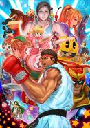 Artwork SSB4 Ryu