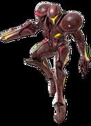 Art Samus sombre rouge Ultimate