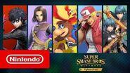 Disponible maintenant Fighters Pass Super Smash Bros