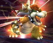 Bowser Smash final Brawl 1