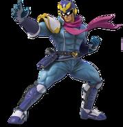 Art Captain Falcon bleu Ultimate