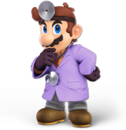 Art Dr. Mario violet Ultimate