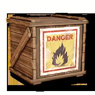 Caisse explosive