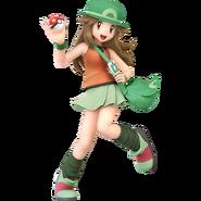 Art Dresseuse de Pokémon vert Ultimate