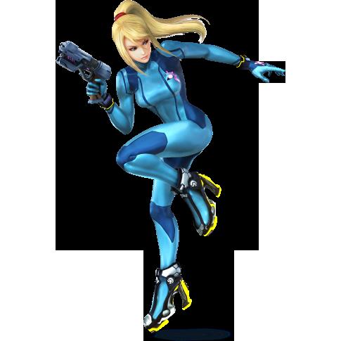 Samus sans armure (3DS / Wii U)