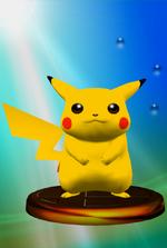 Trophée Pikachu SSBM.png
