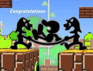 Félicitations Mr. Game & Watch Melee Aventure