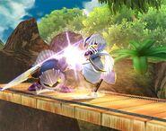Meta Knight attaques Brawl 9