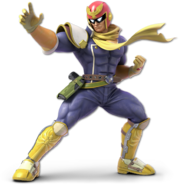Art Captain Falcon Ultimate