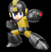 Art Mega Man noir Ultimate
