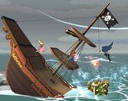 Vaisseau pirate Brawl 5