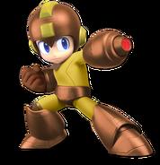 Art Mega Man marron Ultimate