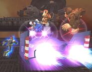 Captain Falcon Smash final Brawl 1