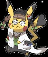 Art Pikachu Docteur ROSA