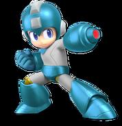Art Mega Man bleu Ultimate