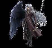Art Sephiroth rouge Ultimate