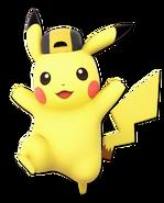 Art Pikachu jaune Ultimate